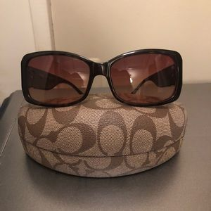 Coach Jenni Tortoise sunglasses (prescription)